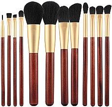 Parfumuri și produse cosmetice Set pensule pentru machiaj, 12 buc. - Tools For Beauty