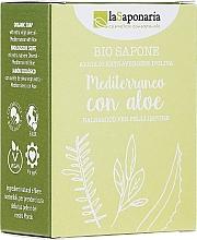 Parfumuri și produse cosmetice Săpun cu extract de Aloe Vera și Ulei de măsline - La Saponaria Aloe Soap