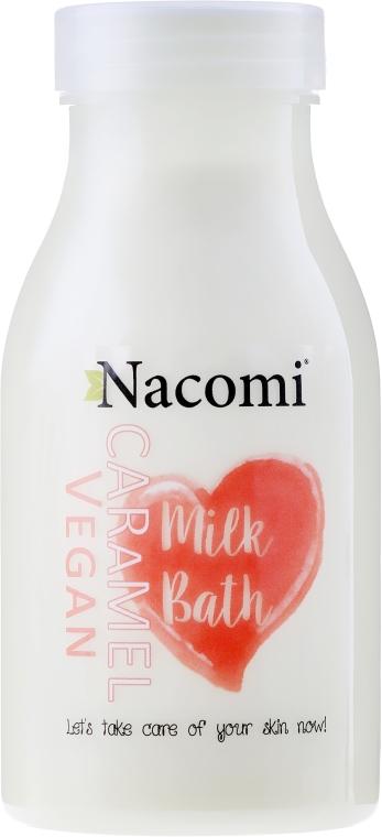 """Lapte de baie """"Caramel"""" - Nacomi Milk Bath Caramel — Imagine N1"""