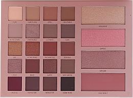 Parfumuri și produse cosmetice Paletă de machiaj - Moira Unravel Eye & Face Palette