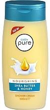 Parfumuri și produse cosmetice Gel-cremă de duș - Cussons Pure Shower Cream Nourishing Shea Butter & Honey
