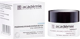 Parfumuri și produse cosmetice Programă lipozomală pentru pleoape împotriva umflăturilor - Academie Liposomes Eye Contour Gel