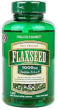 Parfumuri și produse cosmetice Acid alfa linolenic - Holland & Barrett Flaxseed Linseed Oil 1000mg