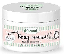 "Parfumuri și produse cosmetice Mousse de corp ""Mango Macaroon"" - Nacomi Body Mousse"