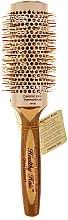 Parfumuri și produse cosmetice Perie rotundă de păr, d.43 - Olivia Garden Healthy Hair Eco-Friendly Bamboo Brush