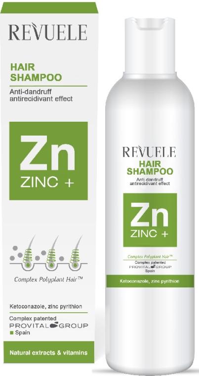 Șampon de păr pentru toate tipurile de mătreață - Revuele Zinc+ Hair Shampoo — Imagine N1