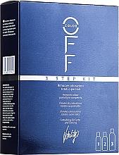 Parfumuri și produse cosmetice Soluție pentru înlăturarea culorii artificiale - Vitality's Color Off 3 Step Kit
