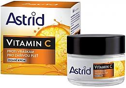 Parfumuri și produse cosmetice Cremă antirid cu vitamina C de zi pentru față - Astrid Vitamin C Daily Anti-Wrinkle Cream