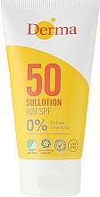 Parfumuri și produse cosmetice Loțiune de corp pentru protecție solară - Derma Sun Lotion SPF50