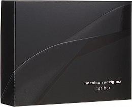 Parfumuri și produse cosmetice Narciso Rodriguez For Her - Set (edp/50ml + sh/gel/50ml + b/lot/50ml)
