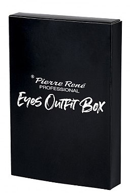 Set pentru machiajul ochilor - Pierre Rene Outfit Eyes Box (mascara/15ml + liner/2.5ml + pencil/0.35g) — Imagine N1