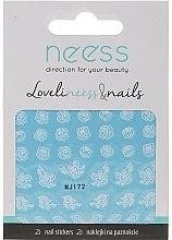 Parfumuri și produse cosmetice Abțibilduri pentru designul unghiilor, 3692, MJ172 - Neess