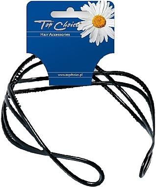 Cordeluță de păr, 27819, neagră - Top Choice