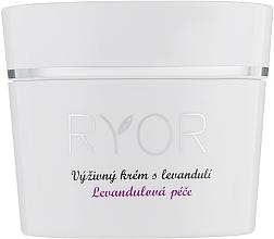 Parfumuri și produse cosmetice Cremă nutritivă de lavandă - Ryor Lavender Nourishing Face Cream