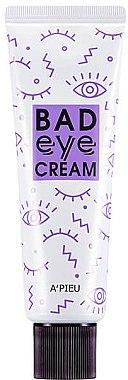 Cremă pentru zona ochilor - A'pieu Bad Eye Cream For Face — Imagine N1