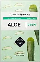 Parfumuri și produse cosmetice Mască de față, ultra-subțire cu extract de aloe - Etude House Therapy Air Mask Aloe