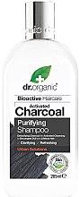 Parfumuri și produse cosmetice Șampon de păr - Dr. Organic Bioactive Haircare Activated Charcoal Purifying Shampoo