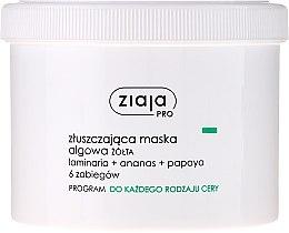 Parfumuri și produse cosmetice Mască exfoliantă cu alge pentru față - Ziaja Pro Exfoliating Mask