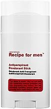 Parfumuri și produse cosmetice Deodorant antiperspirant - Recipe For Men Antiperspirant Deodorant Stick