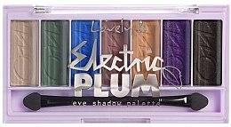 Parfumuri și produse cosmetice Paletă de farduri de ochi - Lovely Electric Plum Eyeshadow