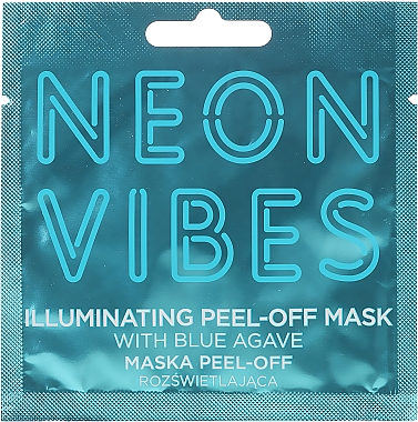 Mască de față - Marion Neon Vibes Illuminating Peel-Off Mask