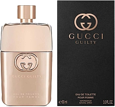 Parfumuri și produse cosmetice Gucci Guilty Eau de Toilette Pour Femme - Apă de toaletă