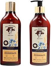 Parfumuri și produse cosmetice Set - Mrs. Potter's Triple Grain (shm/390ml + cond/390ml)