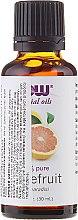 "Parfumuri și produse cosmetice Ulei esesnțial ""Grapefruit"" - Now Foods Grapefruit Essential Oils"