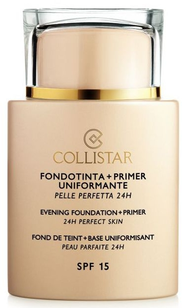 Bază pentru make-up - Collistar Foundation Primer Perfect Skin Smoothing 24H SPF15