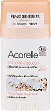 Parfumuri și produse cosmetice Deodorant-stick - Acorelle Deodorant Stick Gel Almond Blossom