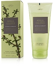 Parfumuri și produse cosmetice Maurer & Wirtz 4711 Acqua Colonia Myrrh & Kumquat - Gel de duș