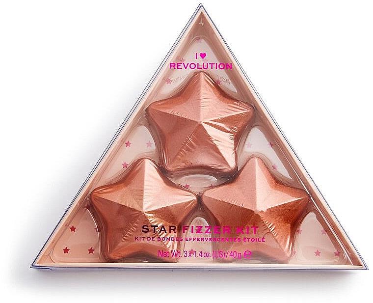 Set - I Heart Revolution Star Fizzer Kit (bath/fiz/40gx3) — Imagine N1