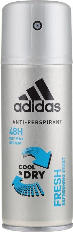 Deodorant - Adidas Anti-Perspirant Fresh Cool Dry 48h