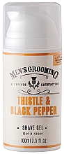 Parfumuri și produse cosmetice Gel de ras - Scottish Fine Soaps Men's Grooming Thistle & Black Pepper Shaving Gel
