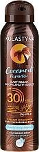 Parfumuri și produse cosmetice Ulei uscat pentru bronz - Kolastyna Coconut Paradise Oil SPF30