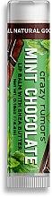 Parfumuri și produse cosmetice Balsam de buze - Crazy Rumors Mint Chocolate Lip Balm