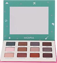 Parfumuri și produse cosmetice Paletă farduri de ochi - Moira Happy Go, Fly, Travel Shadow Palette