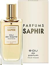 Parfumuri și produse cosmetice Saphir Parfums Oui De Saphir - Apă de parfum