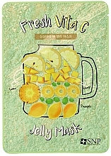 Parfumuri și produse cosmetice Mască împotriva tenului tern - SNP Fresh Vita C Jelly Mask