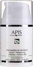 Parfumuri și produse cosmetice Peeling facial - APIS Professional Fit + Pirpgron + Milk + Ferulic 40%