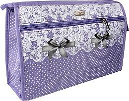 Parfumuri și produse cosmetice Trusă cosmetică 96105, violetă - Top Choice