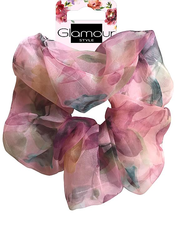 Elastic de păr, 417615, roz - Glamour — Imagine N1