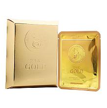 Parfumuri și produse cosmetice Маска тканевая с золотом и секретом улитки - Elizavecca 24k Gold Water Dew Snail Mask