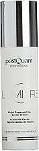 Parfumuri și produse cosmetice Cremă regenerantă de noapte - PostQuam Lumiere Night Regenerating Caviar Cream