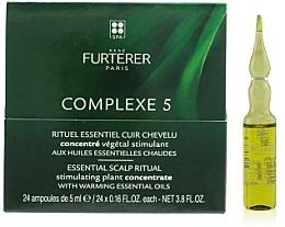 Parfumuri și produse cosmetice Tratament pentru scalp - Rene Furterer Complexe 5 Essential Scalp Ritual Stimulating Plant Concentrate With Warming Esential Oils