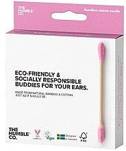 Parfumuri și produse cosmetice Bețișoare din bumbac - The Humble Co. Cotton Swabs Pink