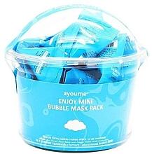 Parfumuri și produse cosmetice Mască de curățare pentru față - Ayoume Enjoy Mini Bubble Mask Pack