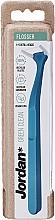 Духи, Парфюмерия, косметика Флоссер зубная нить с держателем, синий - Jordan Green Clean Flosser