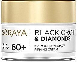 Parfumuri și produse cosmetice Cremă de față - Soraya Black Orchid & Diamonds 60+ Firming Cream