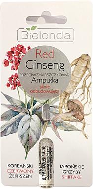 Fiole antirid cu extract de ginseng roșu - Bielenda Red Ginseng